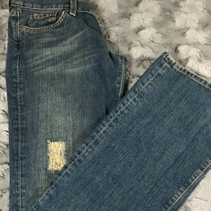 Lucky Brand Distressed Vintage Wash Jeans